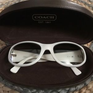 Coach Sunglasses White